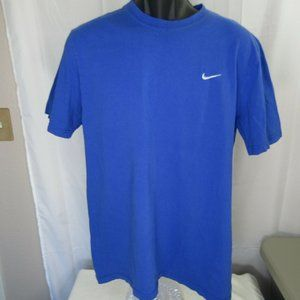 Nike Standard Fit T-Shirt Blue Men's US Size Large